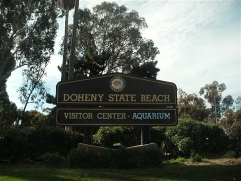 Doheny State Beach Sign