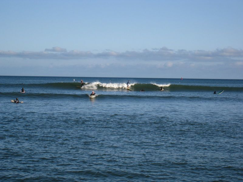 Surfers at Doheny State Beach, Dana Point, CA
