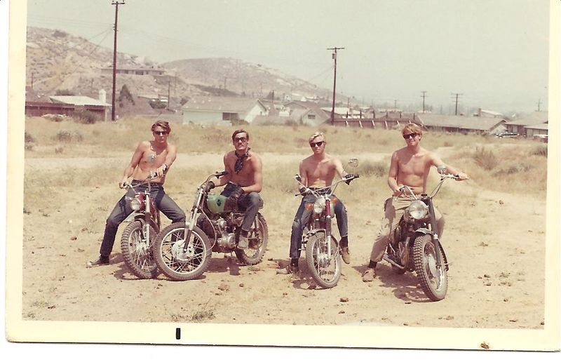 Tim McMillin, Jamie Whitney, Brian McGee, Dawayne Youngblood - 1969