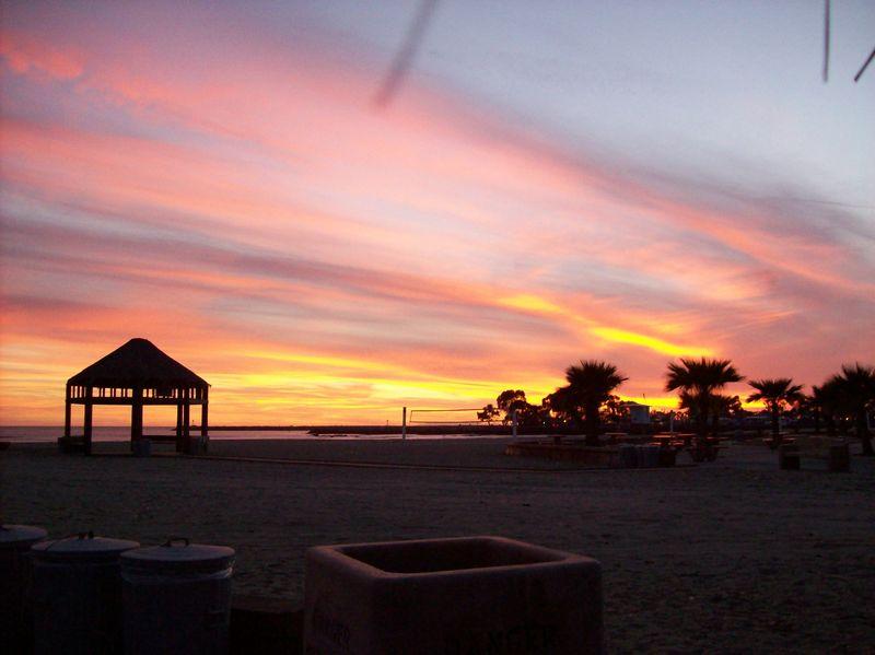 Doheny beach -sunset